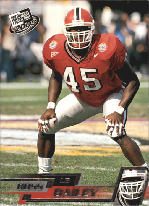 2003 Press Pass #43 Boss Bailey