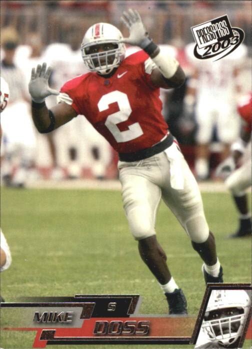 2003 Press Pass #44 Mike Doss