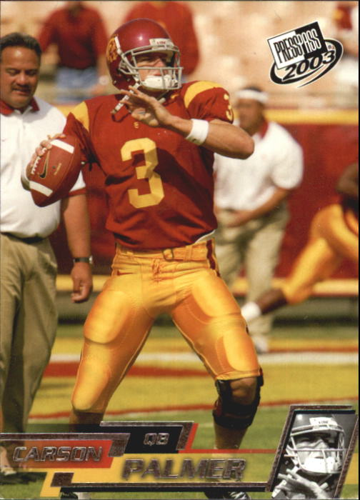 2003 Press Pass #45 Carson Palmer CL