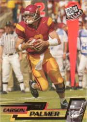 2003 Press Pass Gold Zone #G8 Carson Palmer