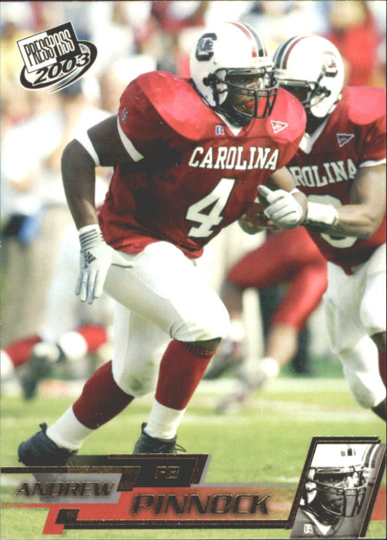 2003 Press Pass Gold Zone #G33 Andrew Pinnock
