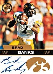 2003 Press Pass Autographs Bronze #2 Brad Banks
