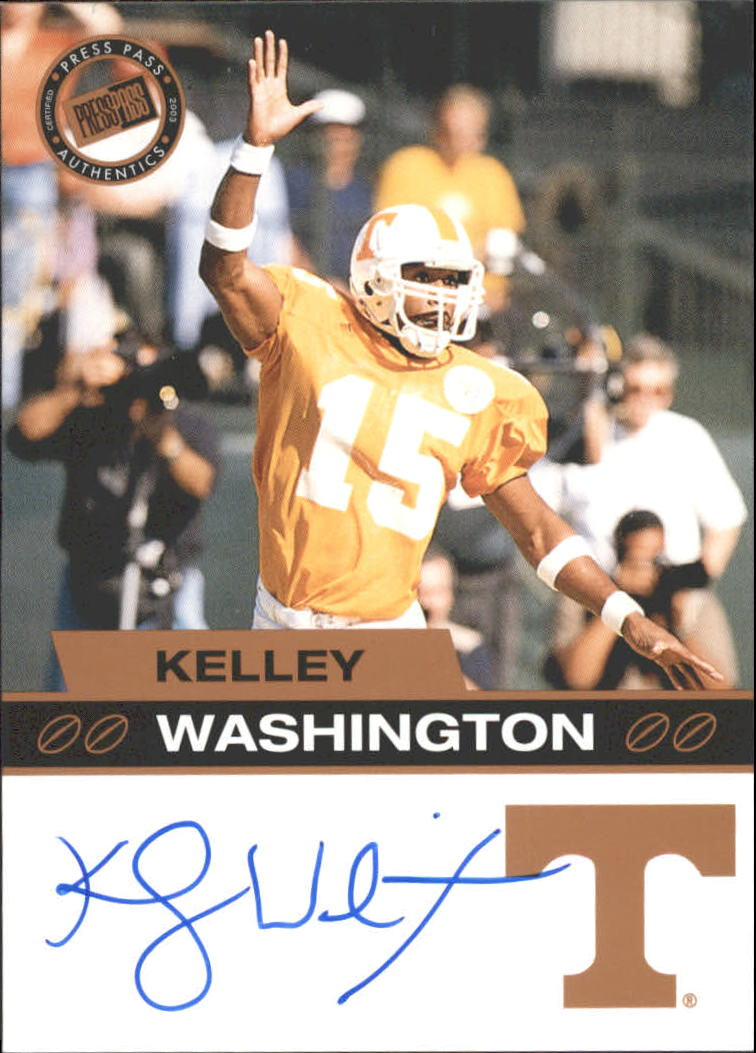2003 Press Pass Autographs Bronze #59 Kelley Washington