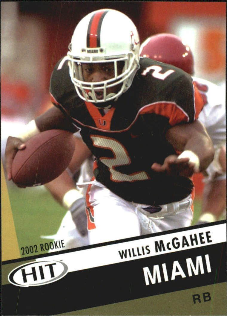 2003 SAGE HIT #2 Willis McGahee