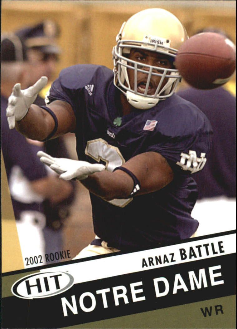 2003 SAGE HIT #3 Arnaz Battle