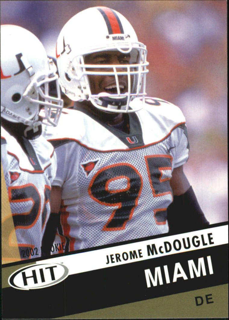 2003 SAGE HIT #9 Jerome McDougle