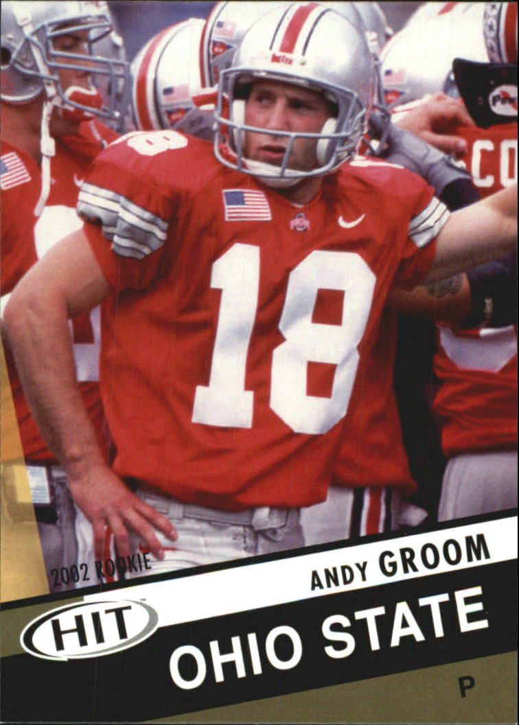 2003 SAGE HIT #13 Andy Groom