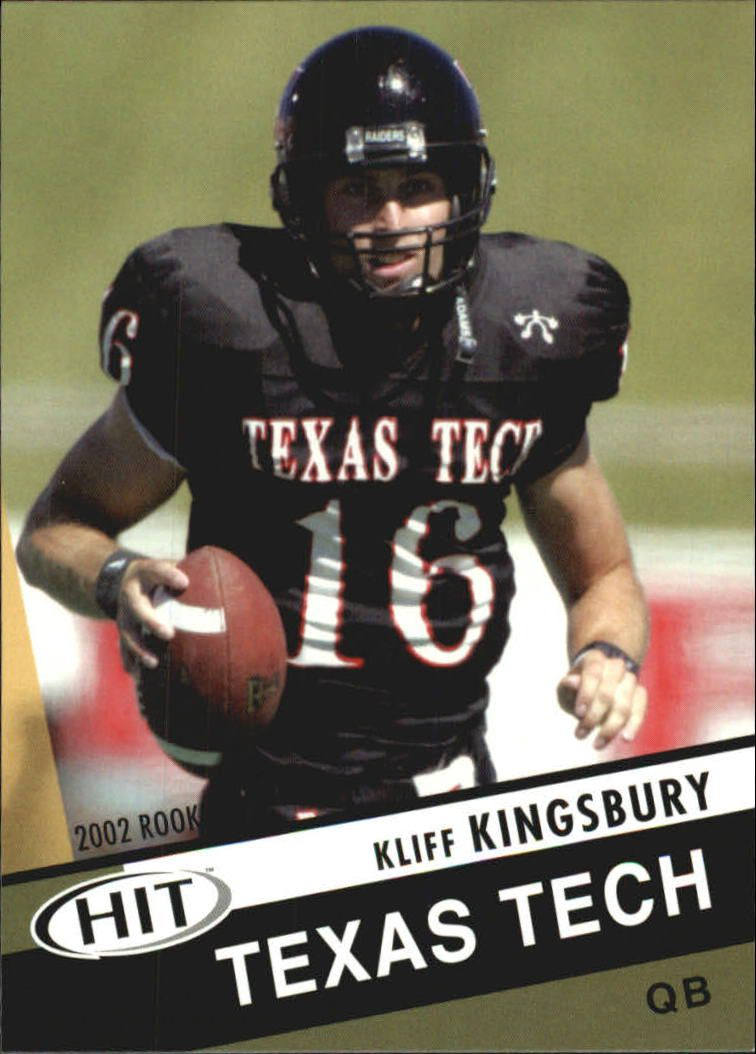 2003 SAGE HIT #16 Kliff Kingsbury