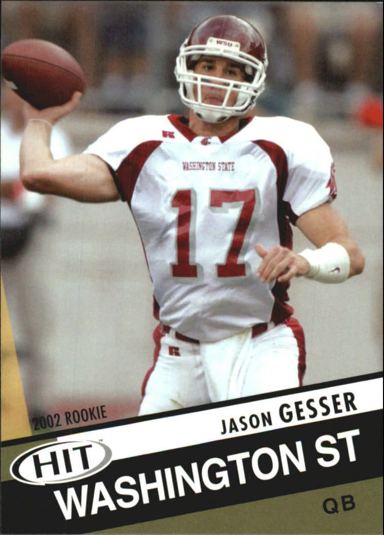2003 SAGE HIT #17 Jason Gesser