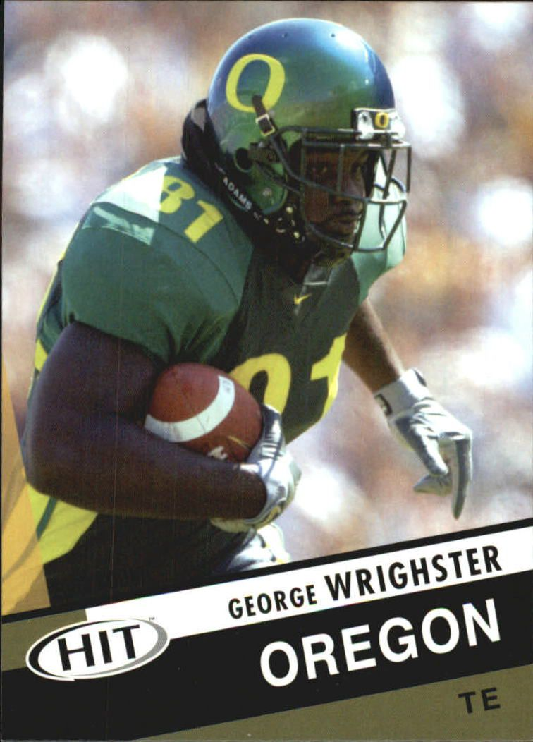 2003 SAGE HIT #18 George Wrighster
