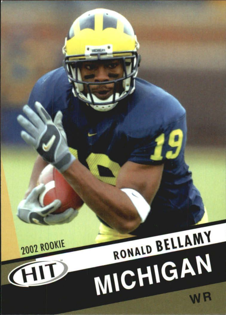 2003 SAGE HIT #19 Ronald Bellamy