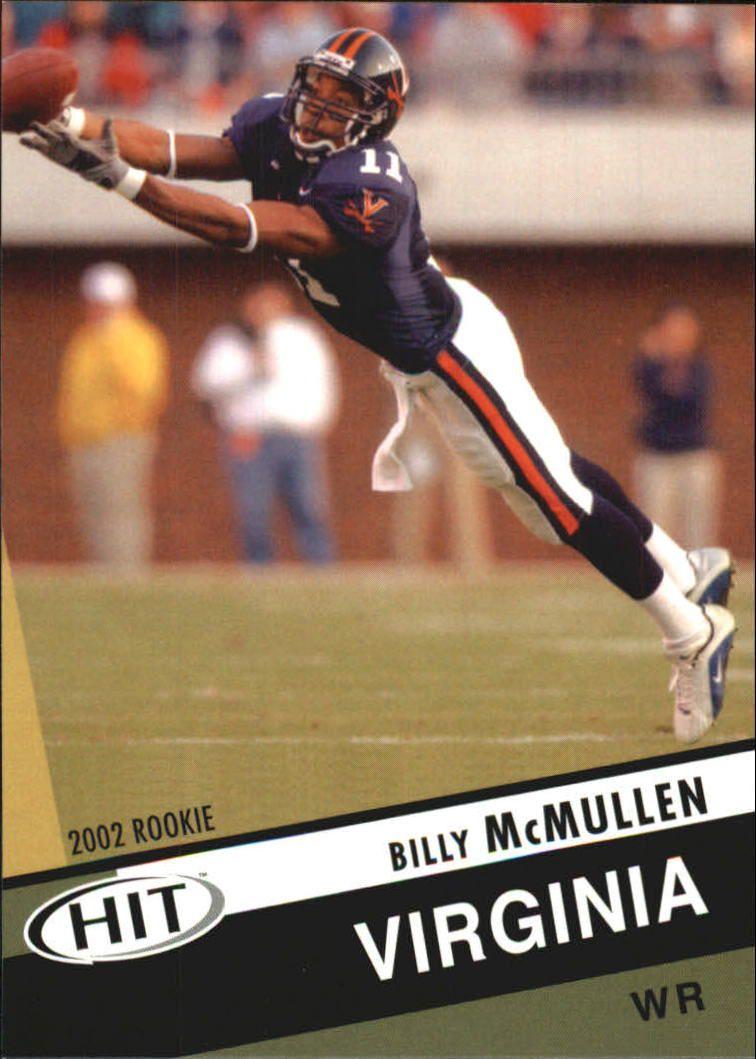 2003 SAGE HIT #21 Billy McMullen
