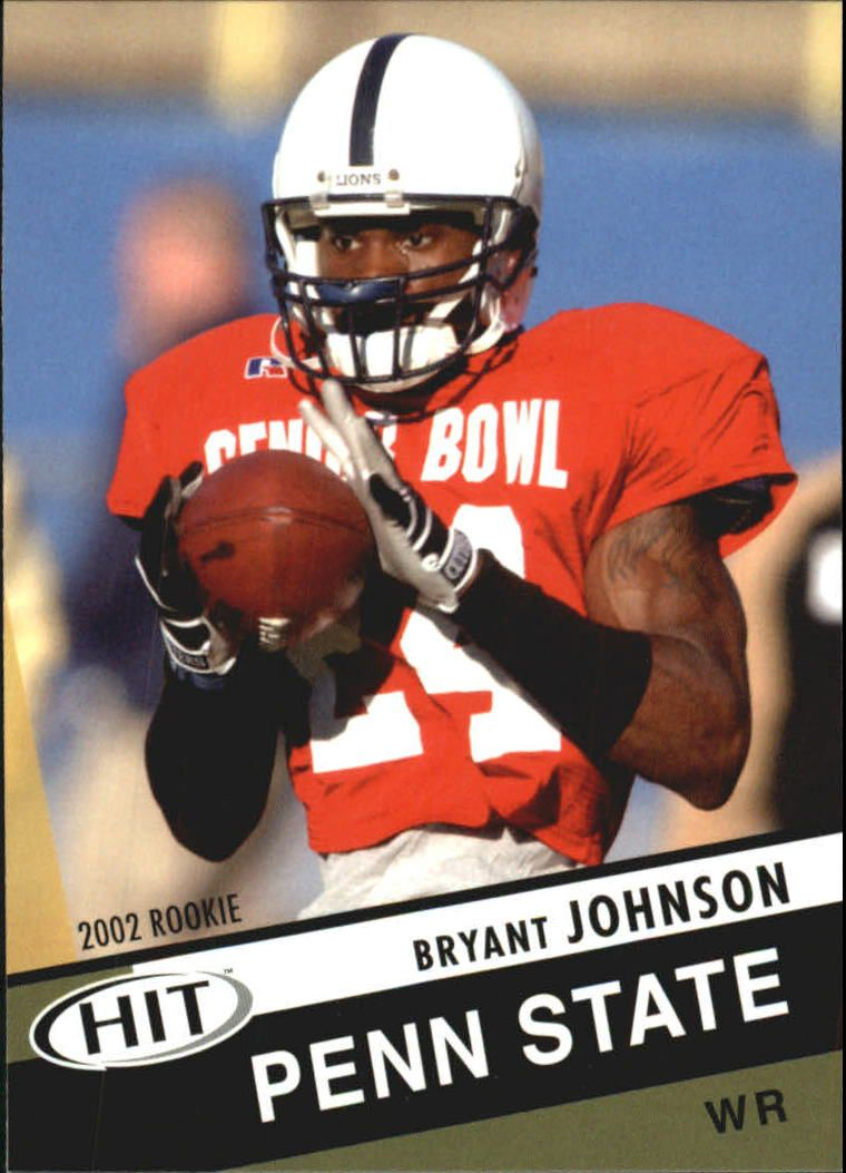 2003 SAGE HIT #24 Bryant Johnson