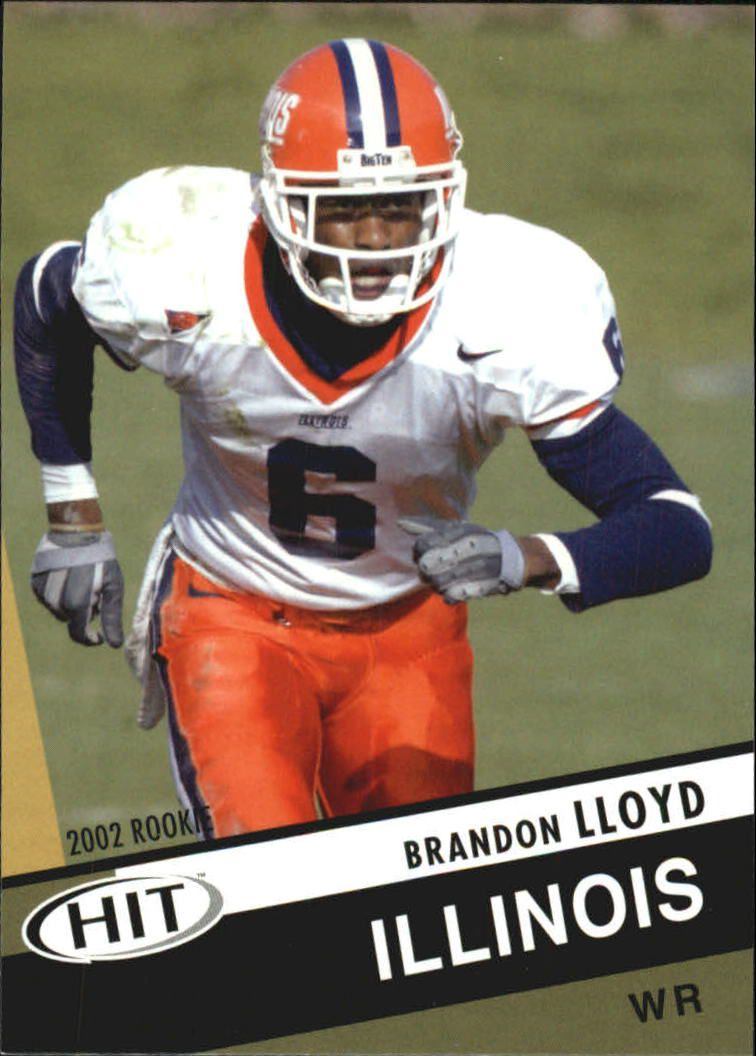 2003 SAGE HIT #26 Brandon Lloyd