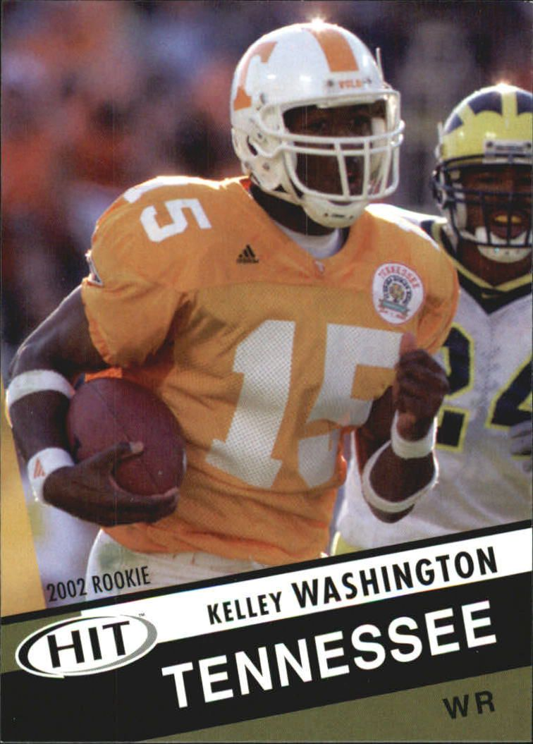 2003 SAGE HIT #31 Kelley Washington