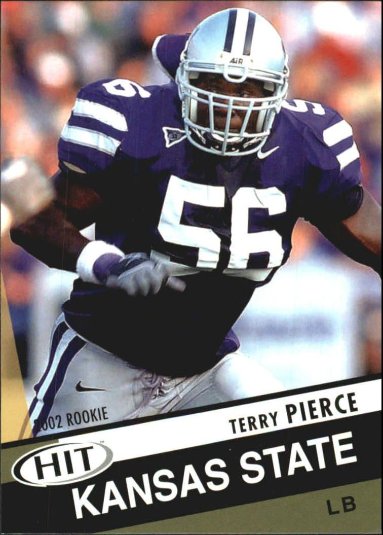 2003 SAGE HIT #34 Terry Pierce
