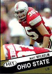 2003 SAGE HIT #35 Matt Wilhelm