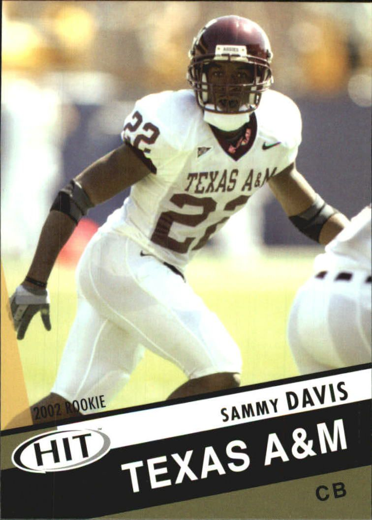 2003 SAGE HIT #39 Sammy Davis