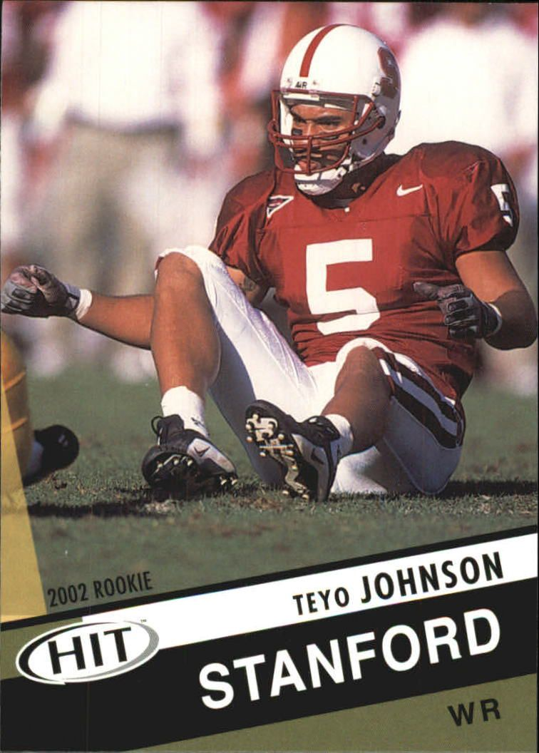 2003 SAGE HIT #40 Teyo Johnson