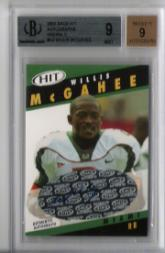 2003 SAGE HIT Autographs Emerald #A2 Willis McGahee