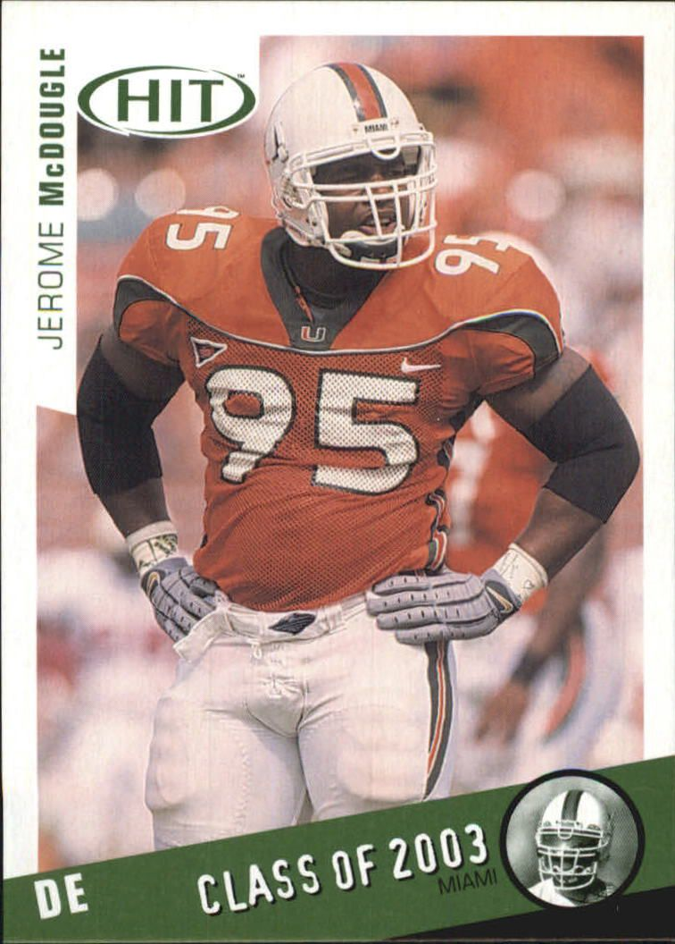 2003 SAGE HIT Class of 2003 Emerald #C9 Jerome McDougle