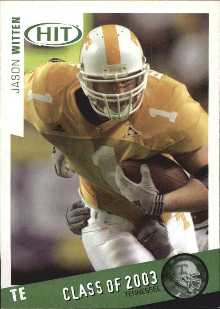 2003 SAGE HIT Class of 2003 Emerald #C10 Jason Witten