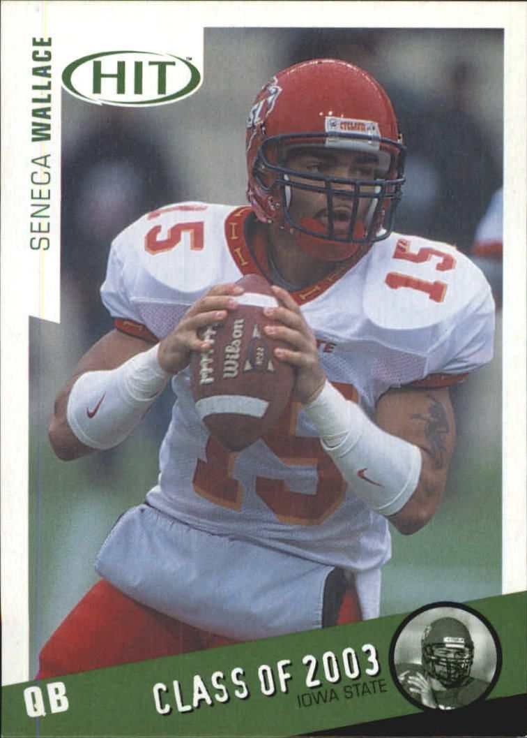 2003 SAGE HIT Class of 2003 Emerald #C14 Seneca Wallace