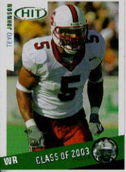 2003 SAGE HIT Class of 2003 Emerald #C40 Teyo Johnson