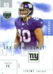2003 SkyBox LE Sky's the Limit #2 Jeremy Shockey