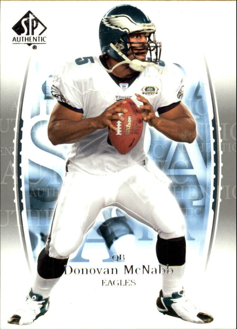 2003 SP Authentic #1 Donovan McNabb