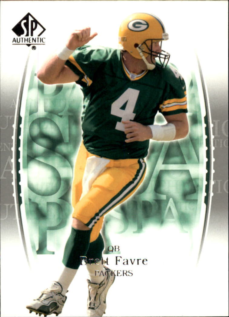 2003 SP Authentic #4 Brett Favre front image