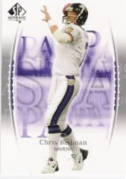 2003 SP Authentic #25 Chris Redman