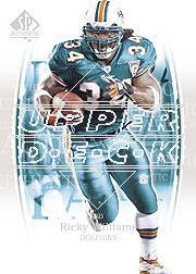 2003 SP Authentic #34 Ricky Williams
