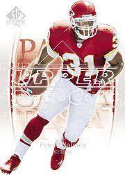 2003 SP Authentic #35 Priest Holmes