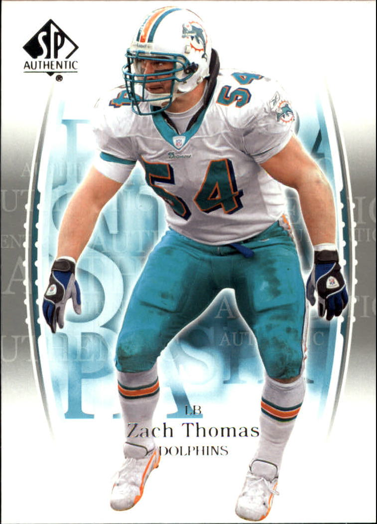 2003 SP Authentic #56 Zach Thomas