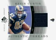 2003 SP Authentic Threads #JCKC Kevin Curtis