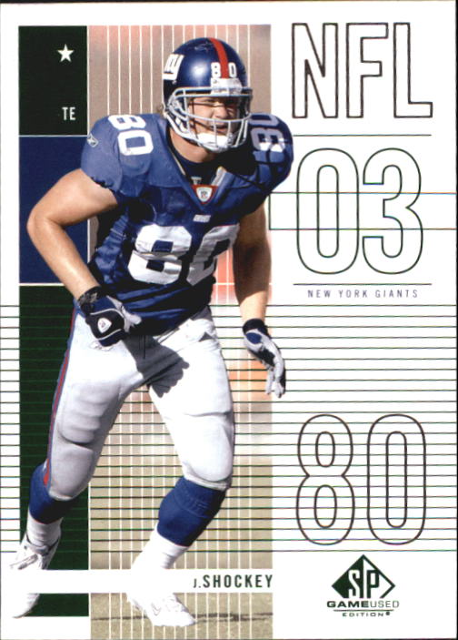 2003 SP Game Used Edition #5 Jeremy Shockey