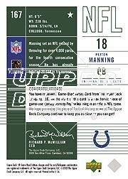 2003 SP Game Used Edition #167 Peyton Manning JSY back image