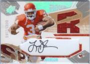 2003 SPx #205 Larry Johnson JSY AU RC