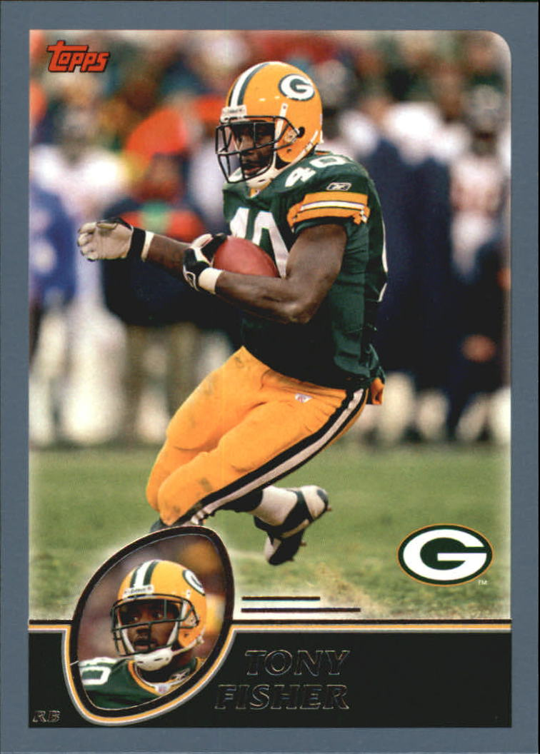 2003 Topps #8 Tony Fisher