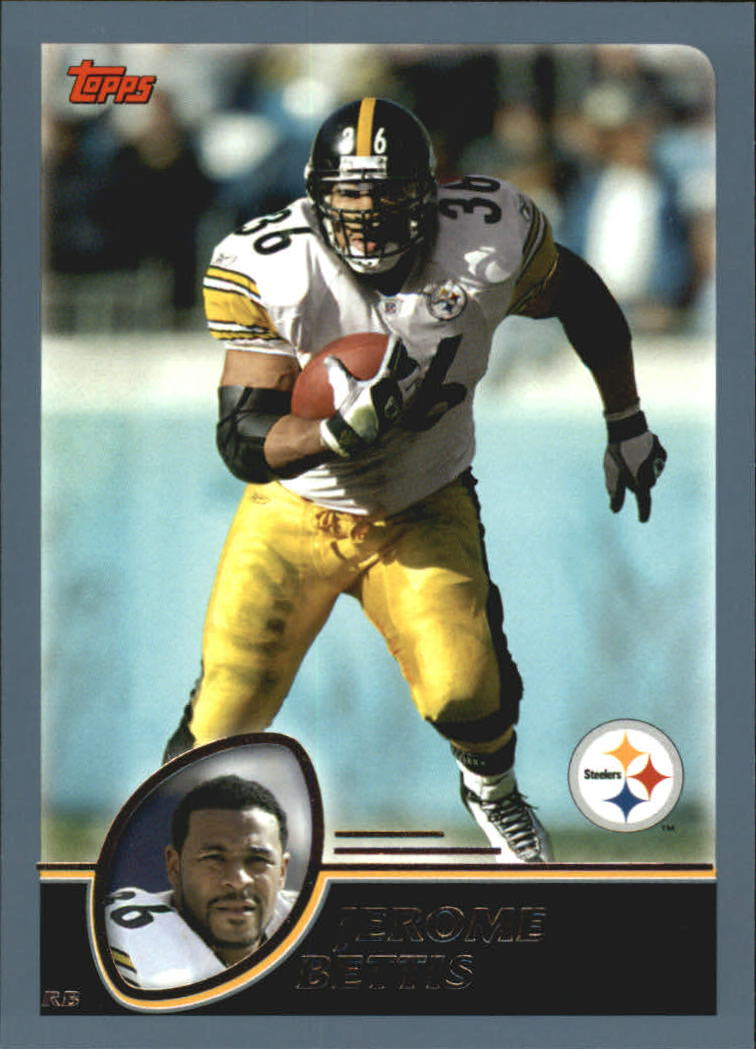 2003 Topps #14 Jerome Bettis