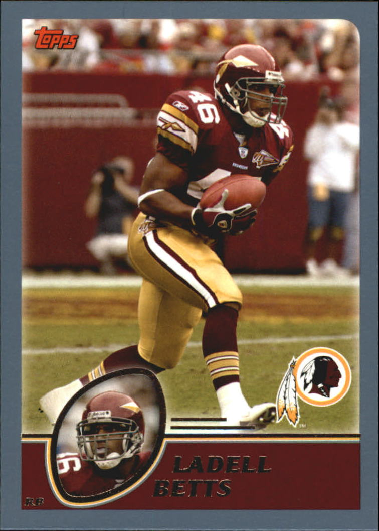 2003 Topps #71 Ladell Betts