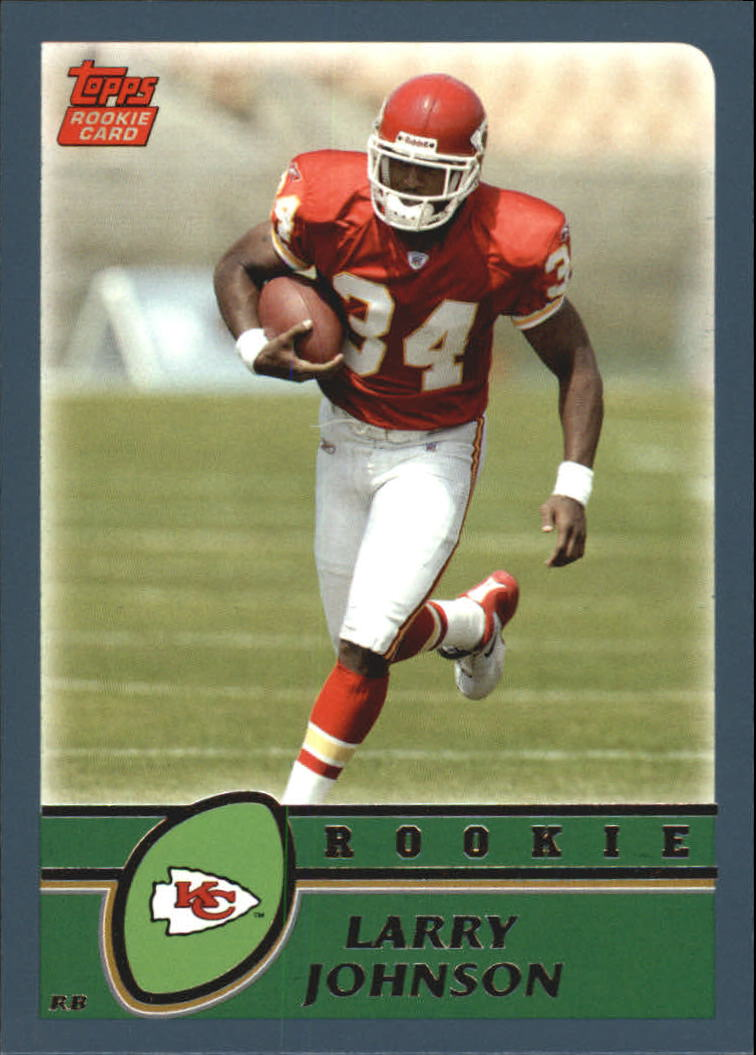 2003 Topps #365 Larry Johnson RC front image
