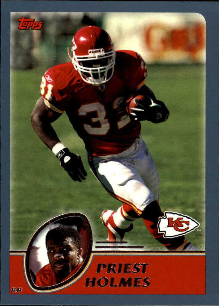 2003 Topps Collection #50 Priest Holmes