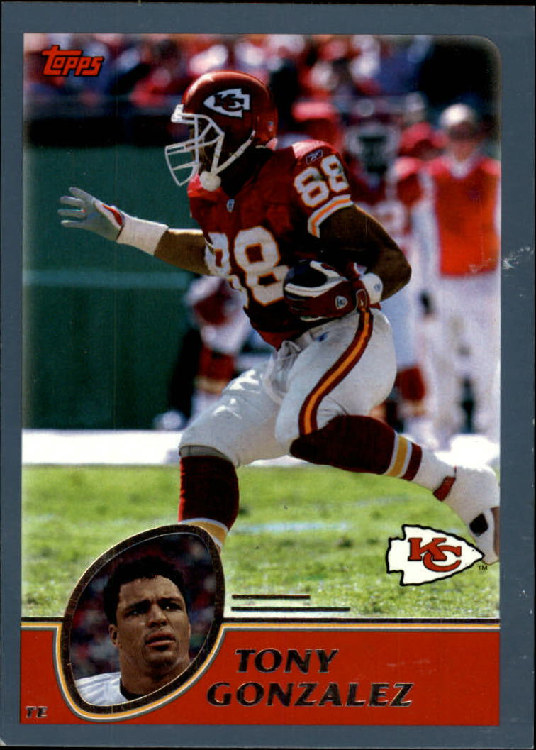 2003 Topps Collection #230 Tony Gonzalez