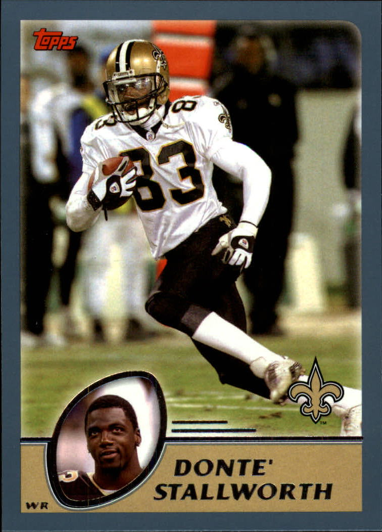 2003 Topps Collection #267 Donte Stallworth
