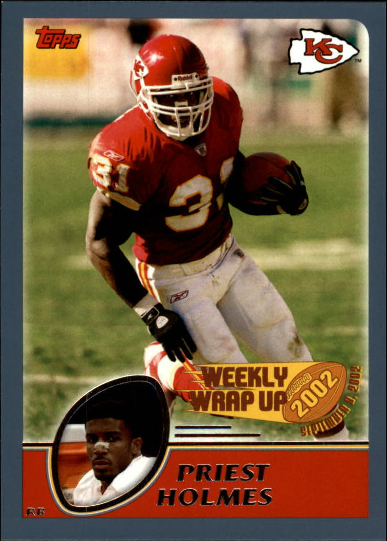 2003 Topps Collection #291 Priest Holmes WW