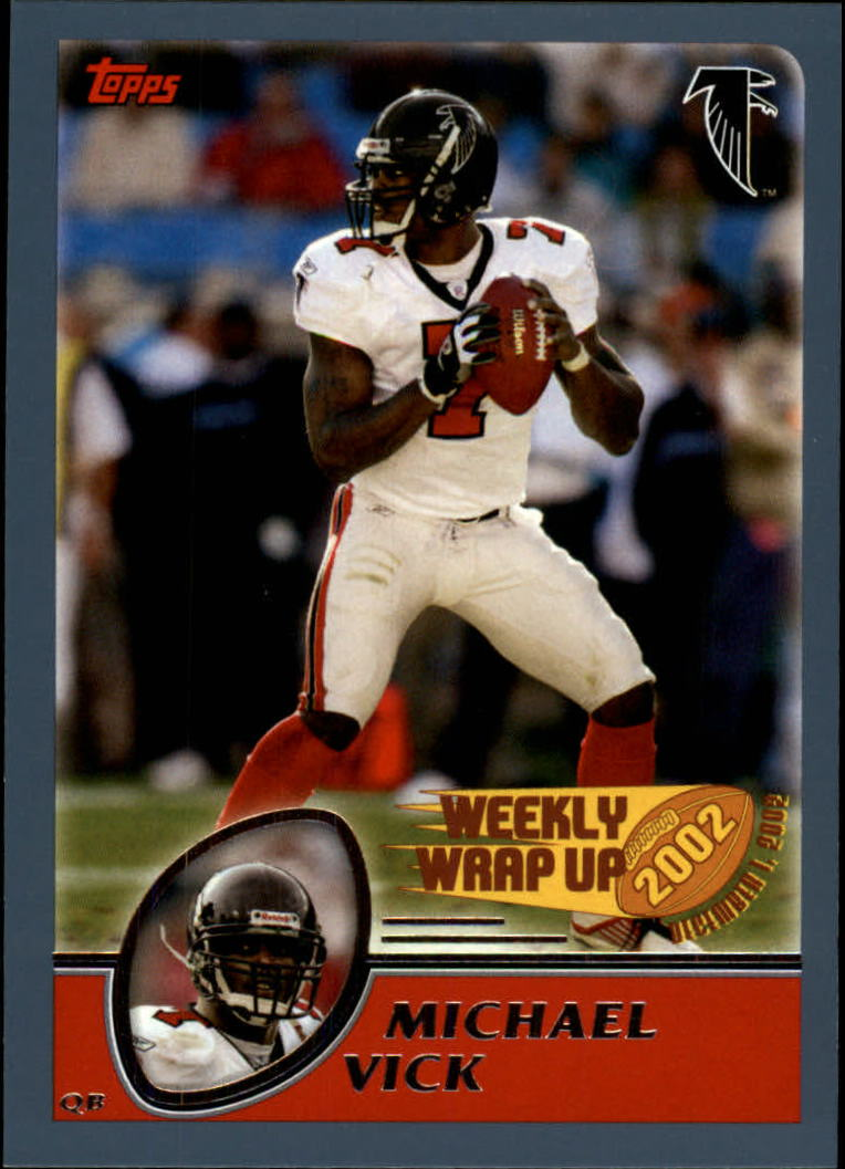 2003 Topps Collection #303 Michael Vick WW