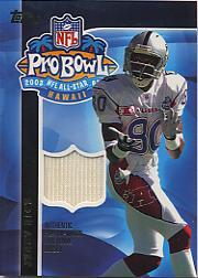 2003 Topps Pro Bowl Jerseys #APJR Jerry Rice