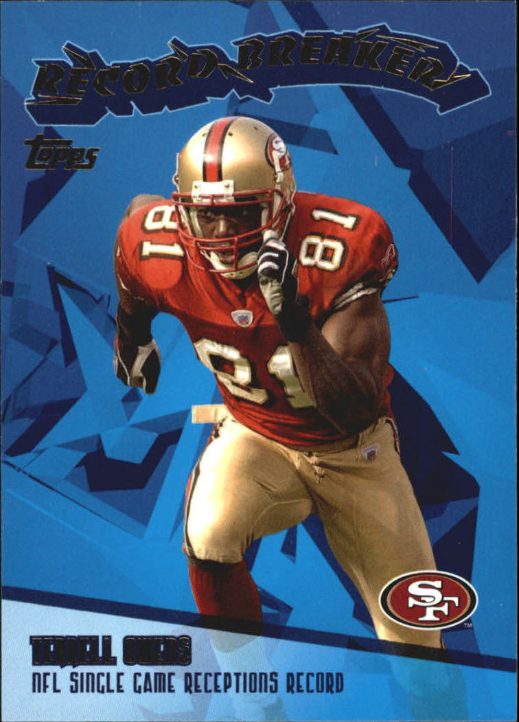 2003 Topps Record Breakers #RB14 Terrell Owens